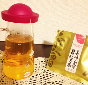 秋月園 ジャスミン茶
