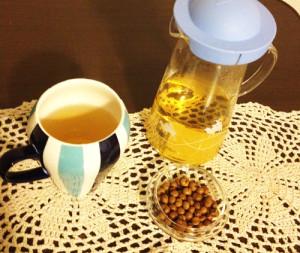 秋月園 大豆茶