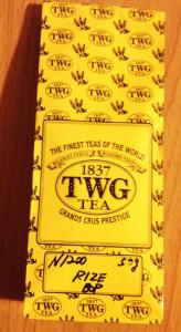 TWG トルコ紅茶 リゼ