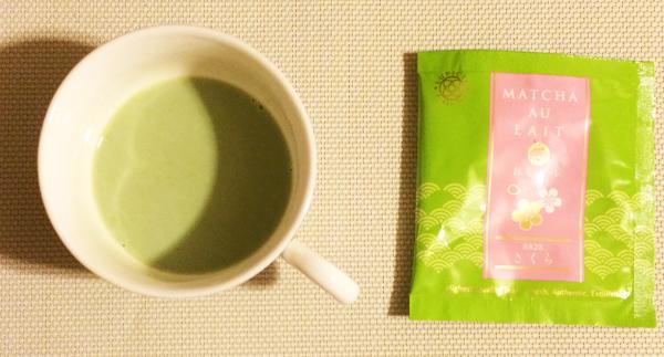 ルピシア 抹茶・オ・レ さくら