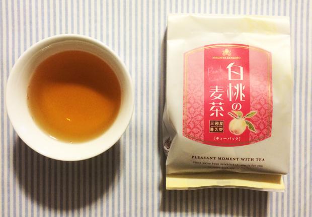 三國屋善五郎 白桃の麦茶