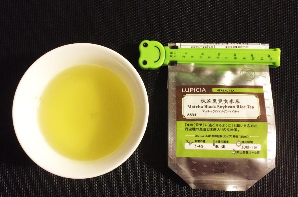 ルピシア 抹茶黒豆玄米茶