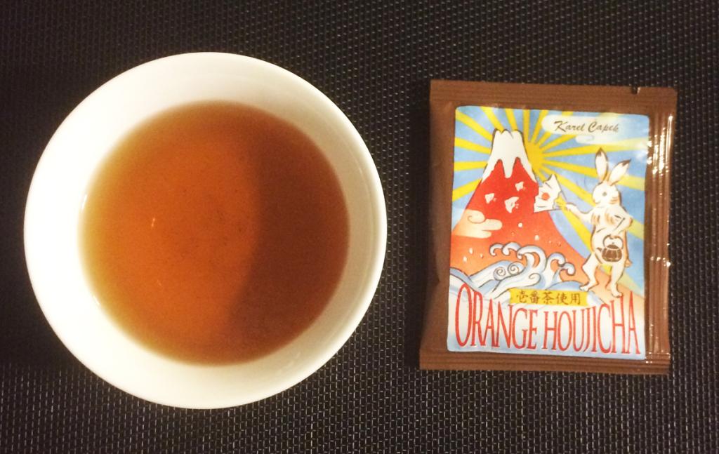 カレルチャペック オレンジほうじ茶