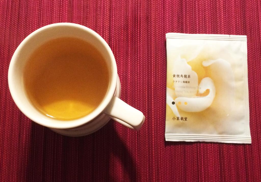 小茶栽堂 クチナシ烏龍茶
