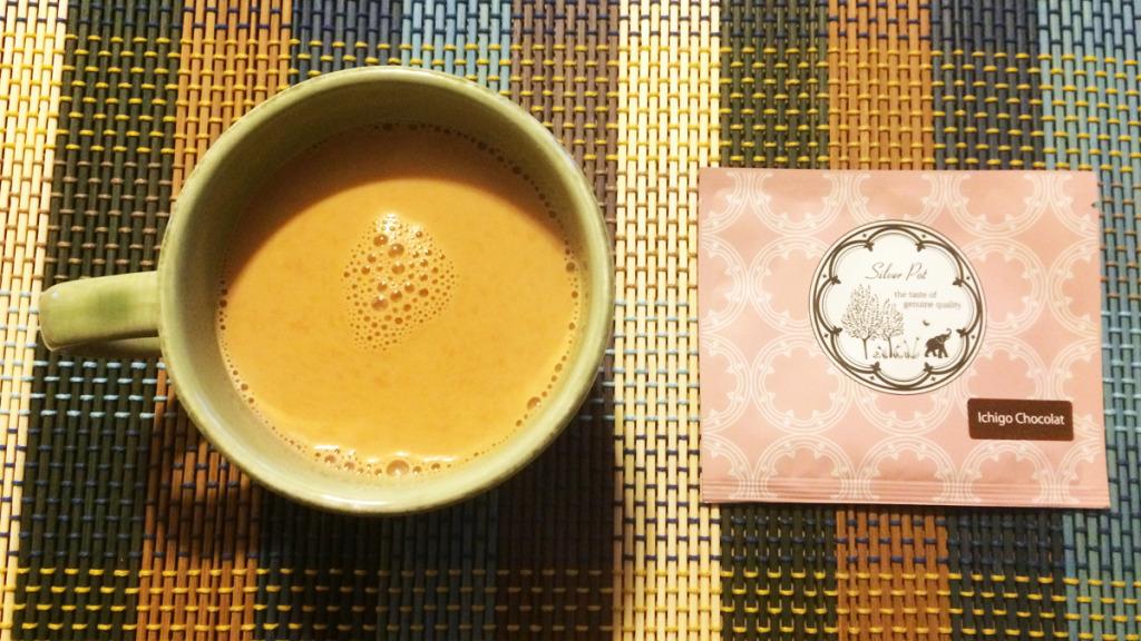 シルバーポット いちごショコラ・chai