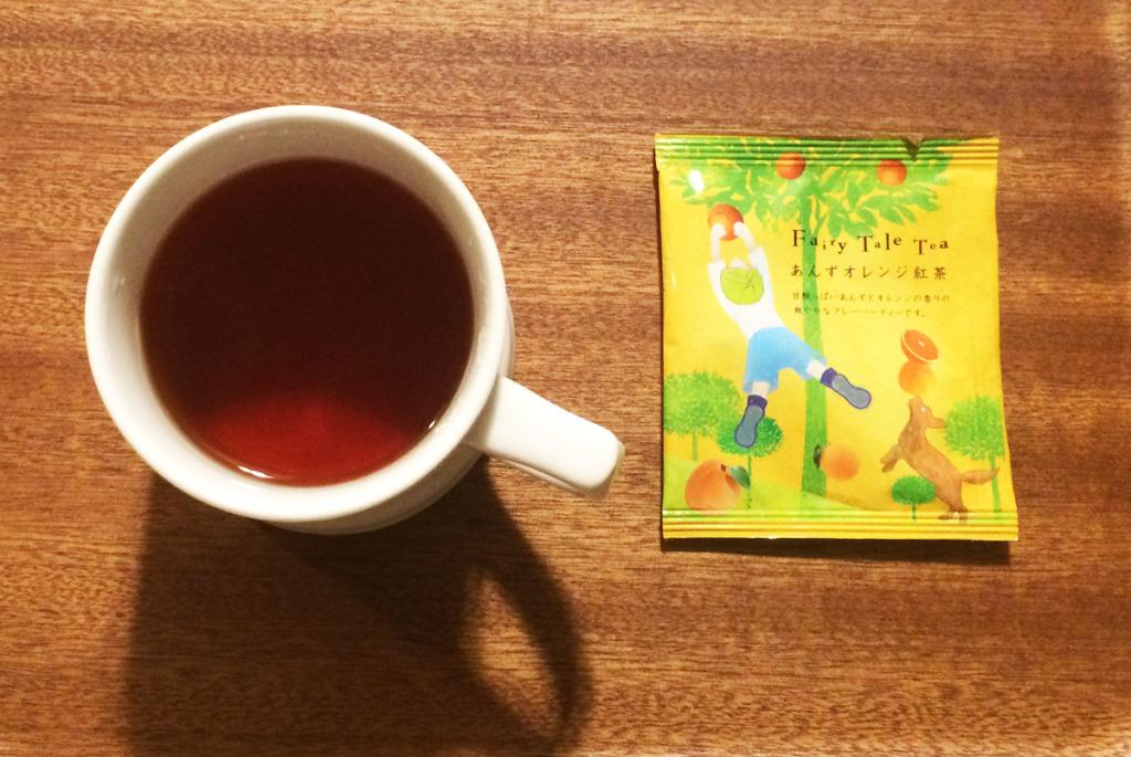 フェアリーテールティー あんずオレンジ紅茶