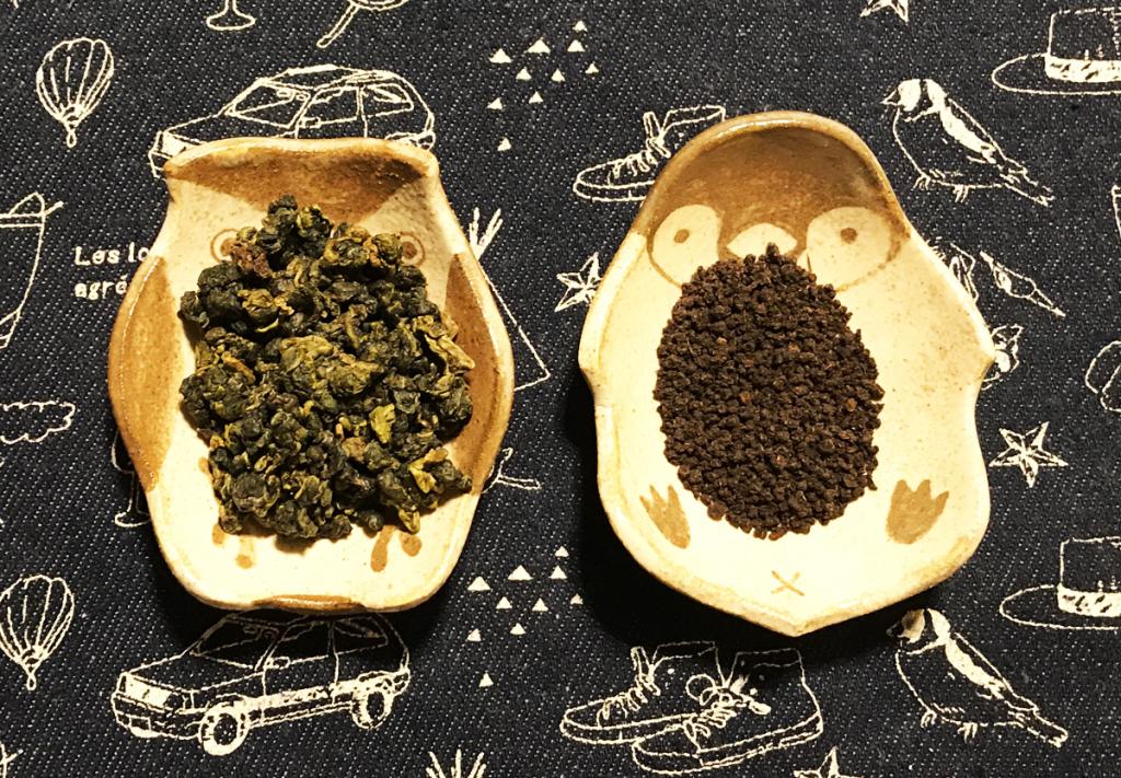 台湾烏龍茶とアッサムCTC