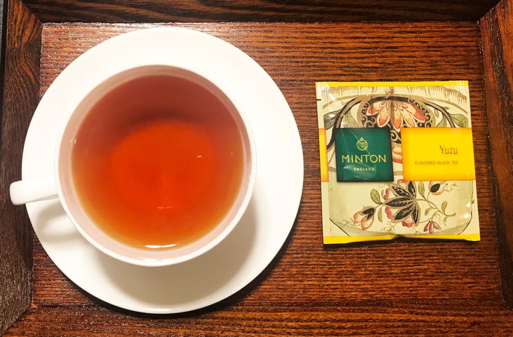 ミントン 和紅茶 柚子