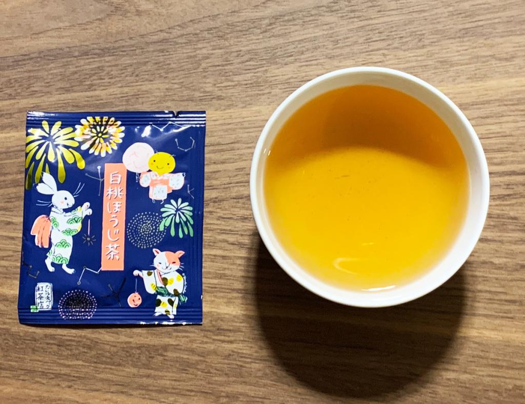 カレルチャペック 白桃ほうじ茶