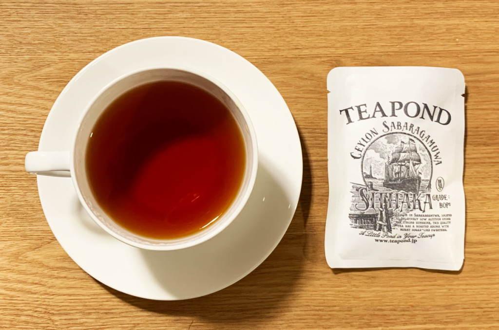 TEAPOND 2018年セイロンサバラガムワ シタカ茶園